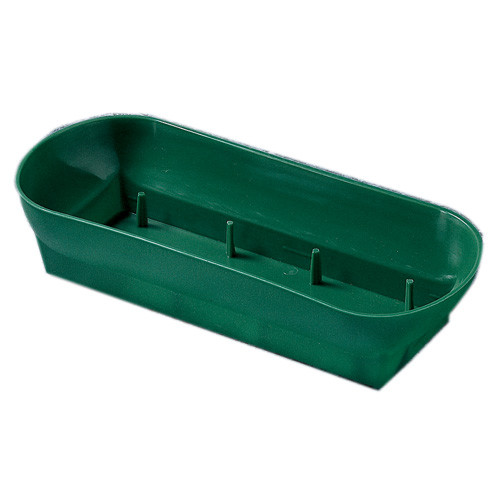 "10 1/2"" Double Design Bowl-Green"