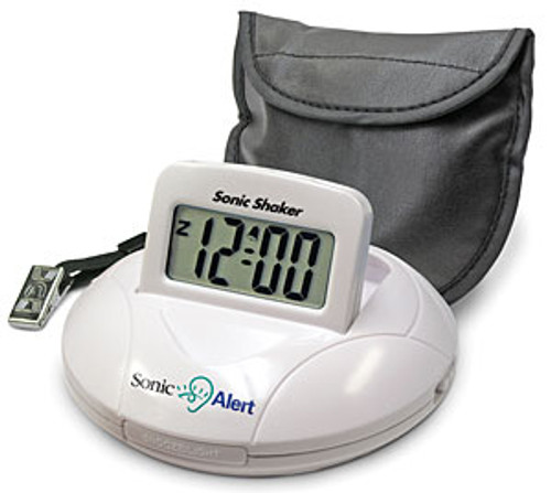 Sonic Boom Vibrating Travel Alarm Clock