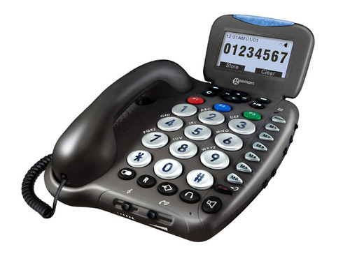 Geemarc GMAMPLI550 Big Button Speakerphone with Large Caller ID