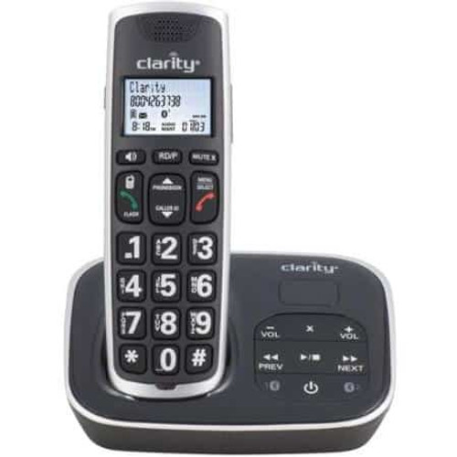 Clarity Expandable BT914 Amplified Bluetooth Cordless Phone with Digital Answering Machine