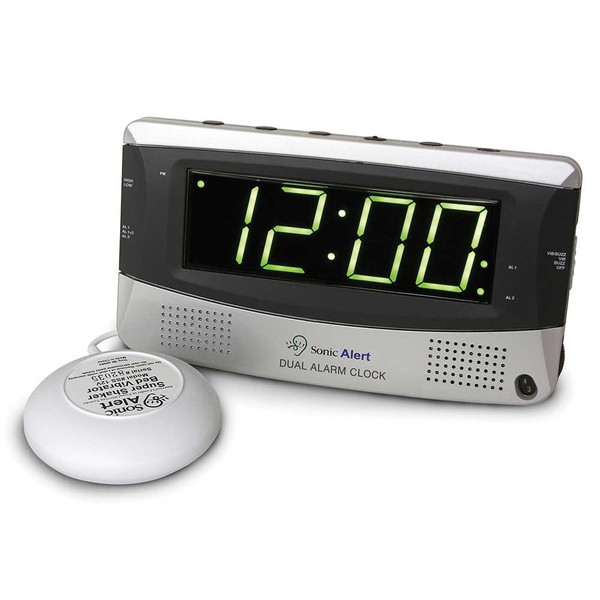 Sonic Boom Alarm Clock with Bed Shaker
