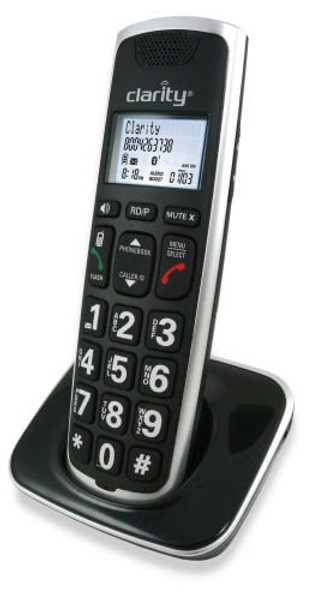 Clarity Expandable Handset for BT914 Amplified Bluetooth Compatible Cordless Phone