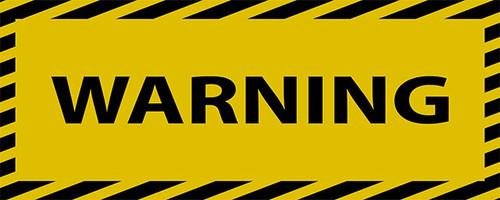 international shipping warning