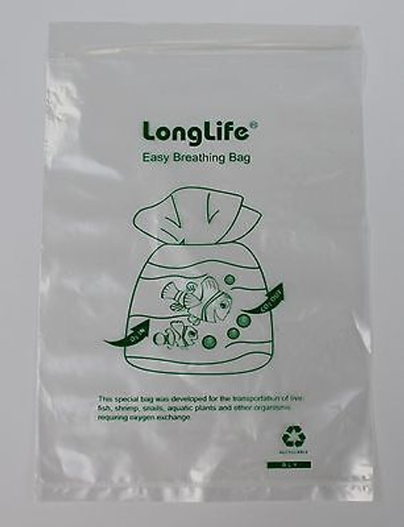 100 LONG LIFE BREATHER BAGS CURVED SEAL 6 X 9. SHIPPING INCLUDED