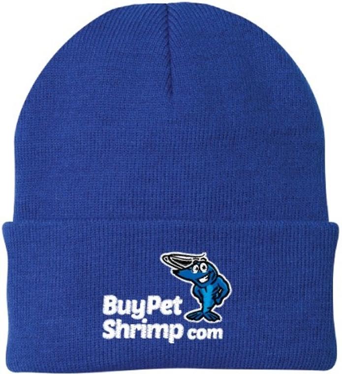 KNIT CAP BLUE