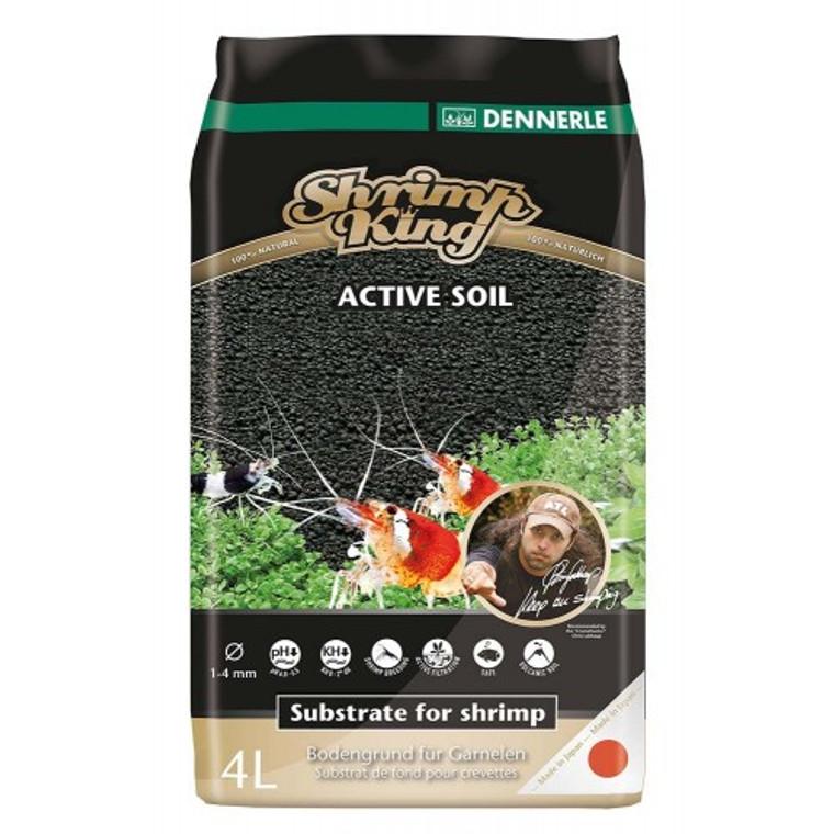 Shrimp King Soil 4 liters *Free shipping *