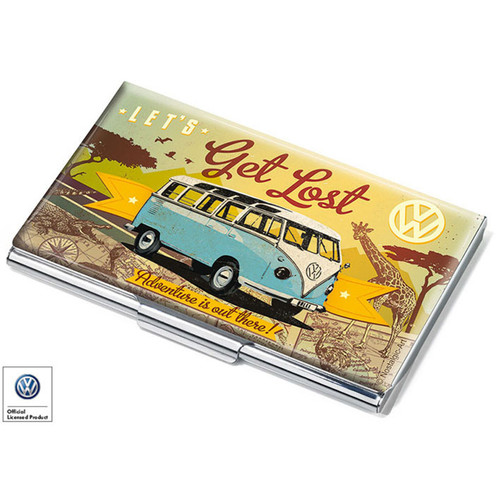 VW LET'S GET LOST  Business Card Case