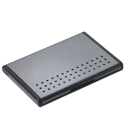 Business Card Case Aluminium, Grey