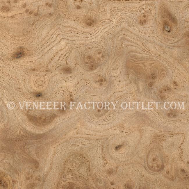 Carpathian Elm Burl Veneer Sheets Deals-Veneer Factory Outlet.com