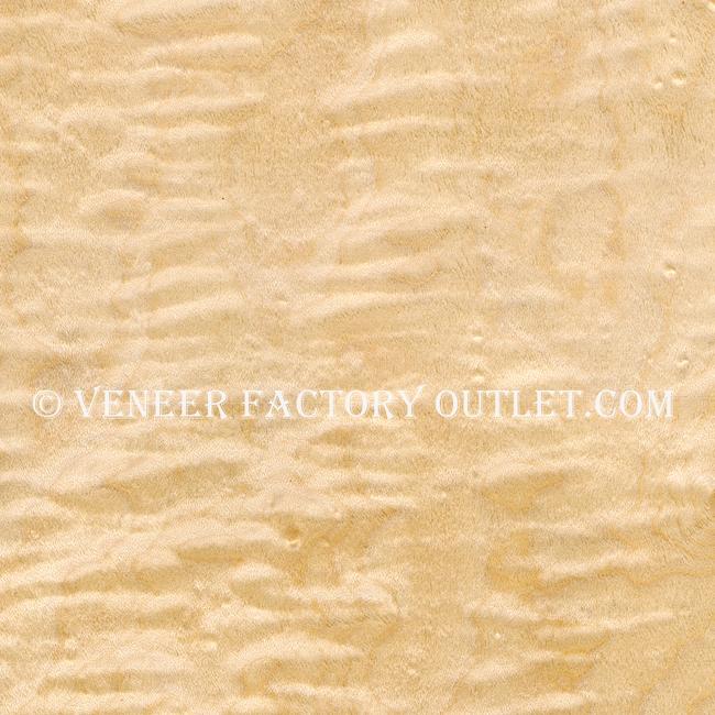Curly Maple Veneer, Heavy Figure @ Veneer Factory Outlet.com
