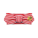 Florida Panthers Infant Red Striped Hair Knot