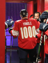 Florida Panthers #55 Noel Acciari Game-Used 2021 Yandle's 1000th Game Warmup Jersey (Autographed)
