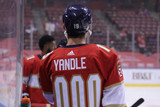 Florida Panthers #19 Mason Marchment Game-Used 2021 Yandle's 1000th Game Warmup Jersey (Autographed)