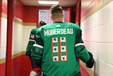 Florida Panthers #11 Jonathan Huberdeau Game-Used 2021 St. Patrick's Game Warmup Jersey