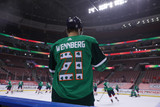 Florida Panthers #21 Alex Wennberg Game-Used 2021 St. Patrick's Game Warmup Jersey
