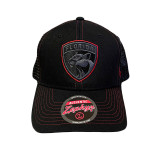 Florida Panthers Staple Trucker Blackout #2 Cap