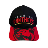 Florida Panthers Cotton Structured Visor Cap