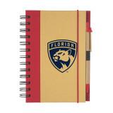 Florida Panthers 5x7 Eco Notebook Pen Set