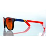 Shades Wayfarer Red Lenses Polarized