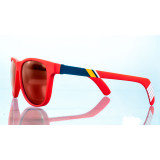 Shades Wayfarer Red Lenses Polarized 2