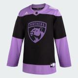 Florida Panthers #21 Alex Wennberg Game-Used 2021 HFC Game Warmup Jersey