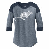 Florida Panthers Women's 2021 Playoff Rat 3/4-Sleeve Raglan Shirt