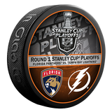 Florida Panthers 2021 Playoff Round 1 Duel Puck