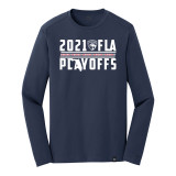 Florida Panthers 2021 Playoff Cat Ribbon Long Sleeve Shirt
