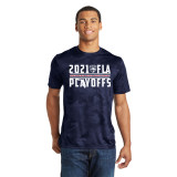 Florida Panthers 2021 Playoff Cats Ribbon Navy CamoHex Shirt