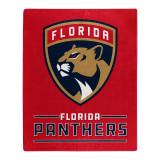 Florida Panthers Raschel Blanket Interference