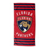 Florida Panthers Beach Towel Stripes