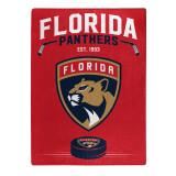 Florida Panthers Raschel Blanket Inspired