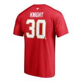 Florida Panthers #30 Spencer Knight Name & Number Shirt