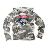 Florida Panthers Toddler Camo Hood Sweatshirt