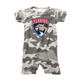 Florida Panthers Infant Camo Romper