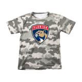 Florida Panthers Juvenile Camo Shirt