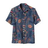 Florida Panthers Vintage Floral Button Down Shirt