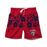 Florida Panthers Toddler Floral Volley Swim Shorts