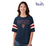 Florida Panthers Women's Linebacker Shirt