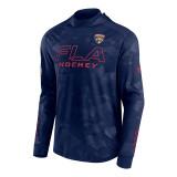 Florida Panthers Authentic Pro Locker Room Camo Hood Sweatshirt