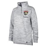 Women's Florida Panthers Haze 1/2 Snap Pullover