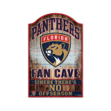 Florida Panthers Wood Fan Cave Sign