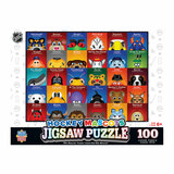 NHL Mascots Puzzle (100 Pieces)