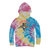 Florida Panthers Youth 93-94 Full Front Tie-Dye Hood Sweatshirt