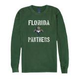 Florida Panthers Stencil Helmet Long Sleeve Shirt