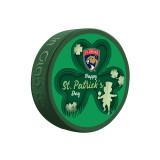 Florida Panthers St. Patrick's Puck