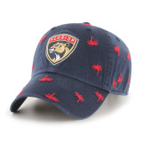 Florida Panthers Confetti Palm Tree Clean Up Cap