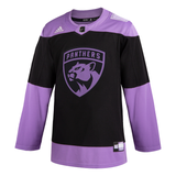 Florida Panthers Adidas Hockey Fights Cancer Jersey