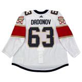 Florida Panthers Evgenii Dadonov Game Used Away Jersey - Set 3 (2020 Qualifying Round)
