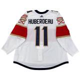 Florida Panthers Jonathan Huberdeau Game Used Away Jersey - Set 3 (2020 Qualifying Round)